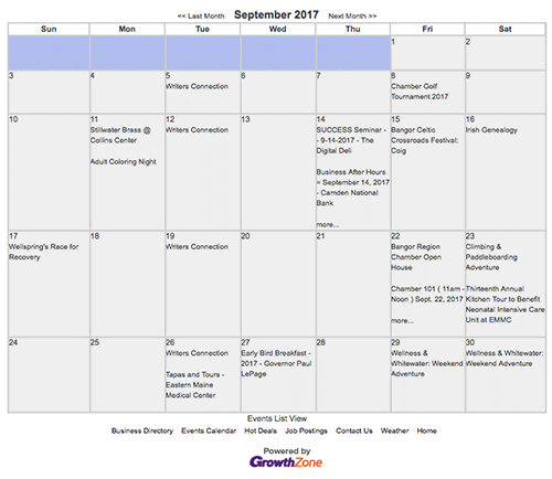 View All Chamber Events